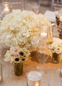Glamorous White Hamptons Wedding