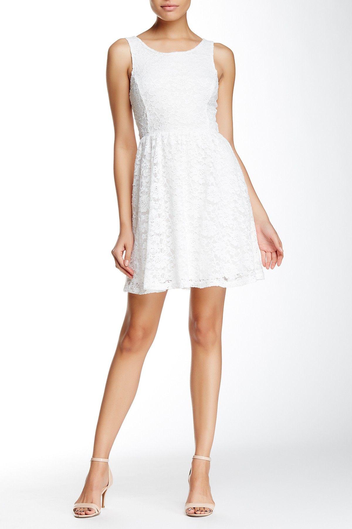 Lush Lace Skater Dress Bridesmaid Dresses Nordstrom