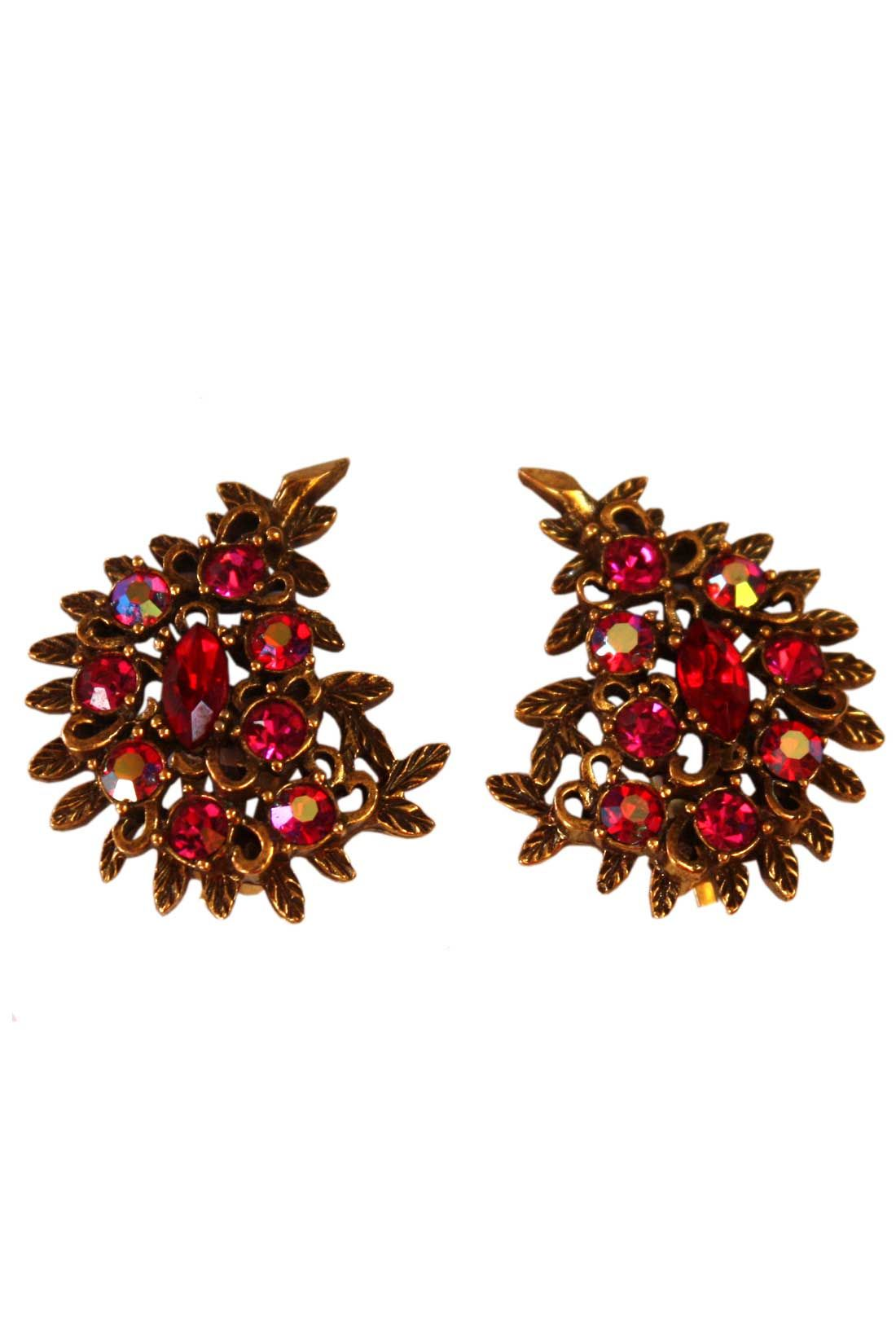 Clip on these vintage earrings now!