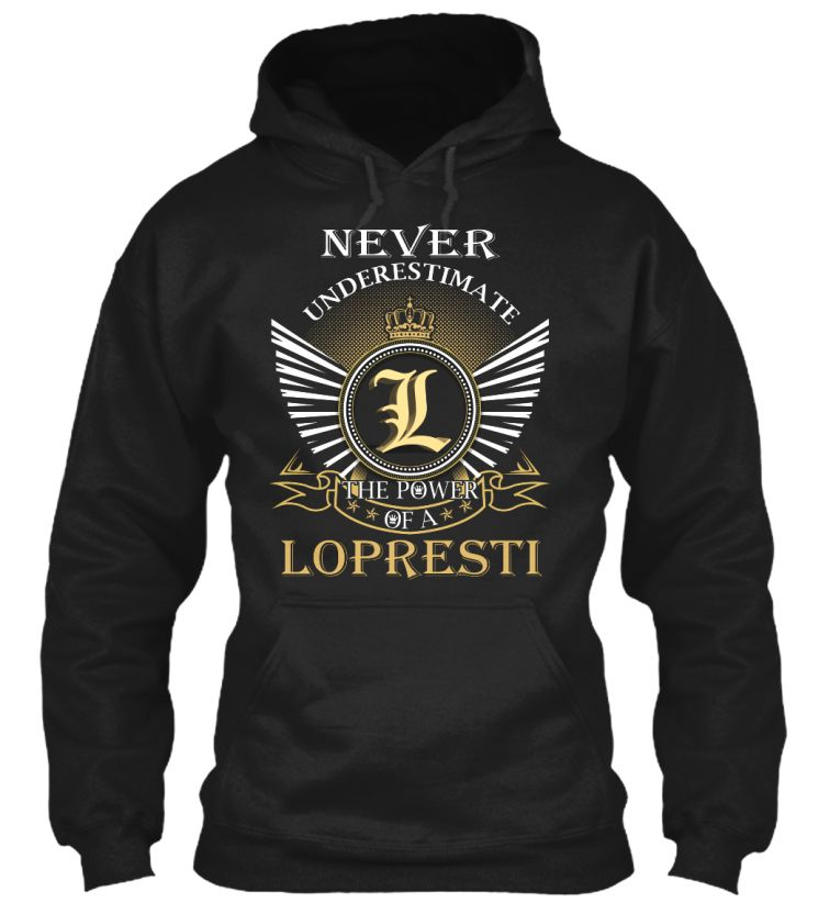 LOPRESTI - Never Underestimate #Lopresti