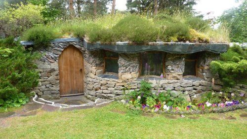 Turf Roof Natural Building Earth Homes Earth Sheltered Homes
