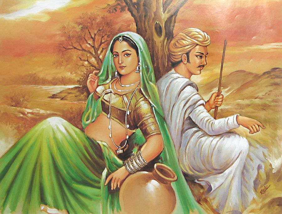 Top 10 Amazing Real Life Indian Love Stories Rajasthani Painting Indian Art Paintings Indian Paintings