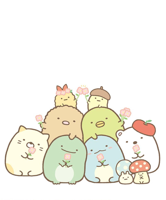Sumikko Gurashi Cute Kawaii Animals Kawaii Drawings Cute Cartoon Wallpapers