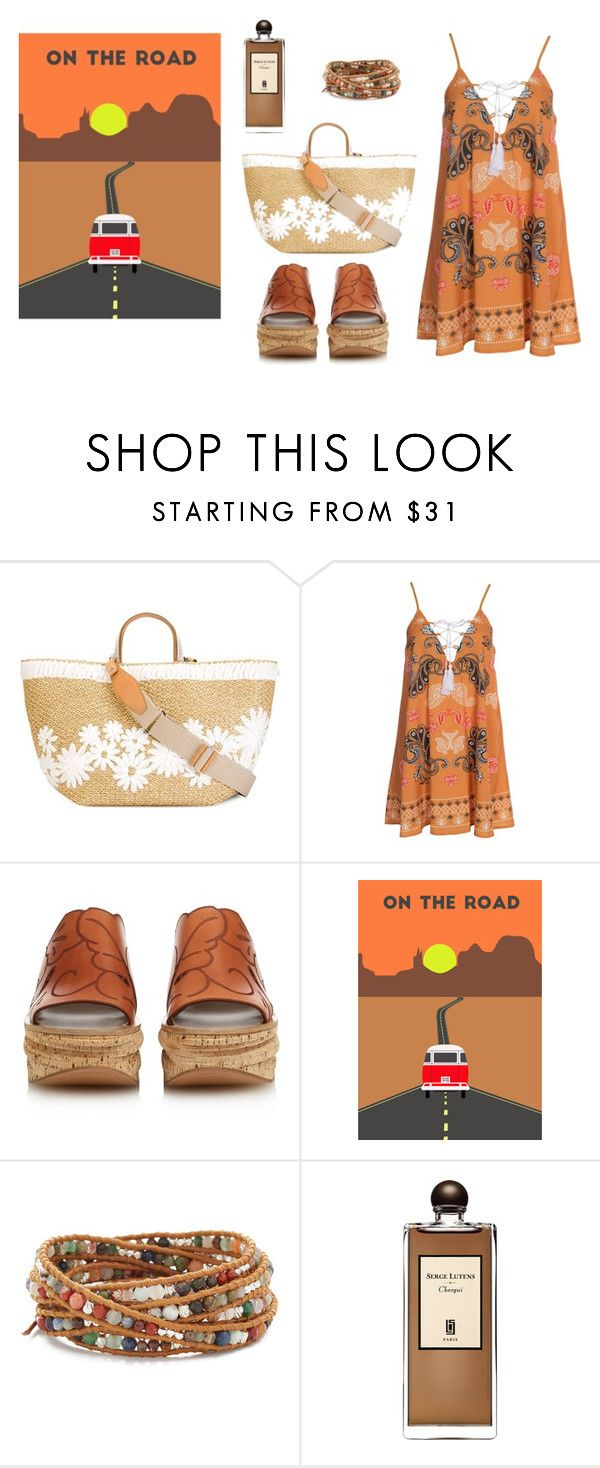 """""""Boho road trip"""" by lalynany ❤ liked on Polyvore featuring Ermanno Scervino, Kiss The Sky, Chloé, Chan Luu and Serge Lutens"""