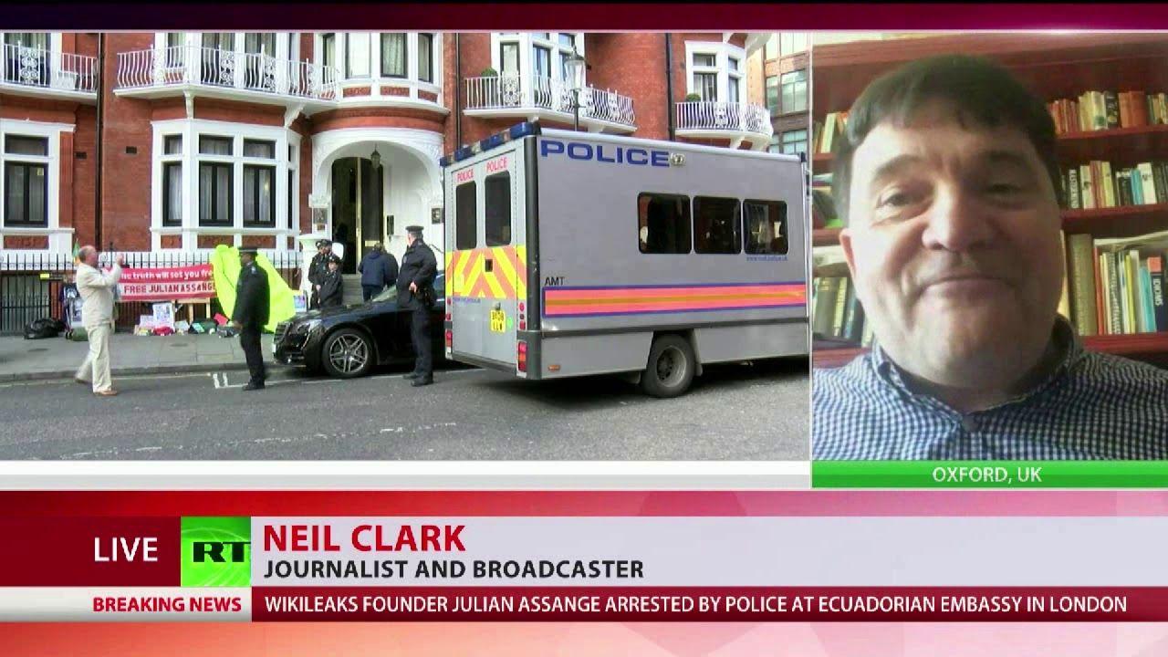Neil Clark U0026quot Julian Assange Has Been Besmirched U0026quot Julian
