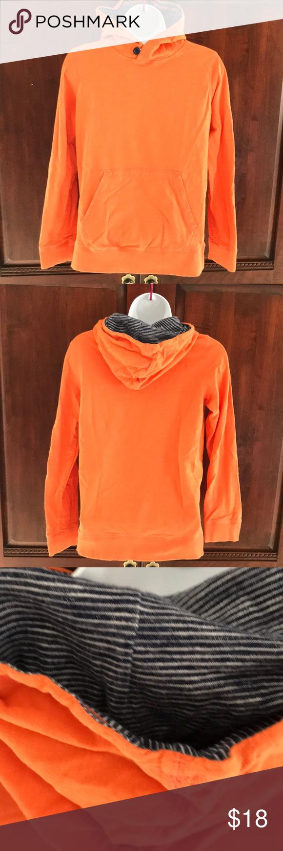 Lands End Boys Hoodie T Shirt Size L 14 16 Boys Hoodies Long Sleeve Tshirt Men Shirt Size [ 1740 x 580 Pixel ]