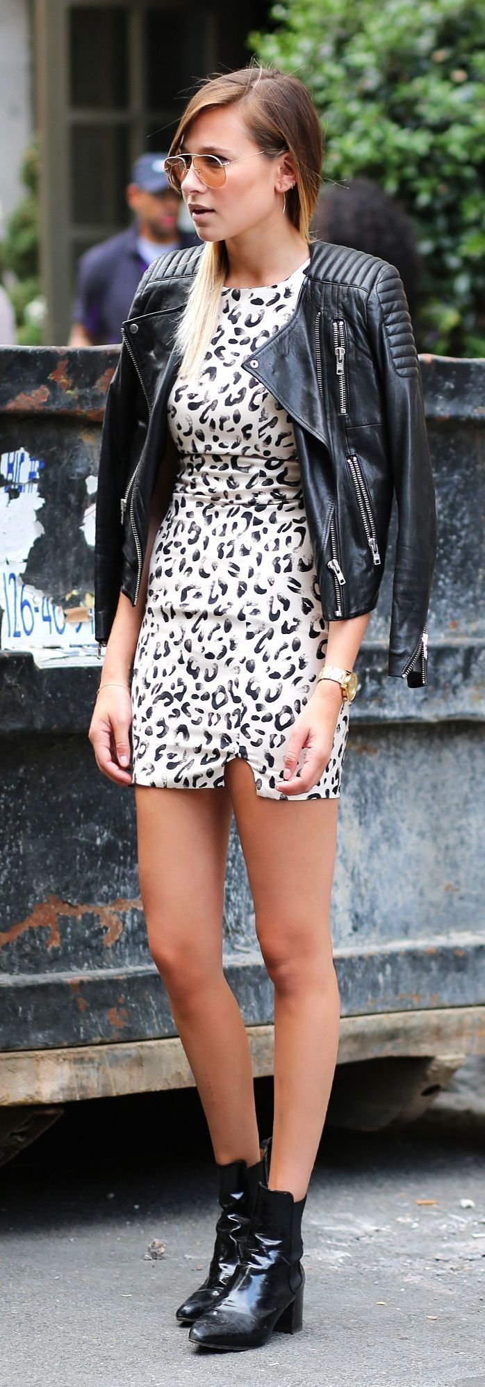 Keepsake The Label Black And White Mini Animal Print Sundress by We Wore What