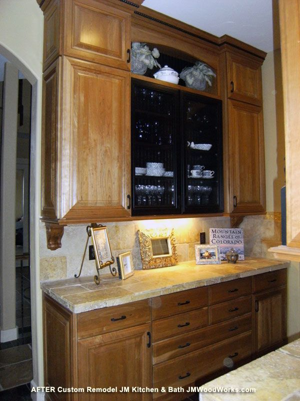 Butlers Pantry designs by JM Kitchen & Bath http://www.jmwoodworks ...