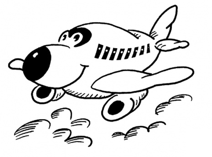 Jumbo Jet Coloring Pictures Airplane Coloring Pages Coloring Pages Cartoon Coloring Pages