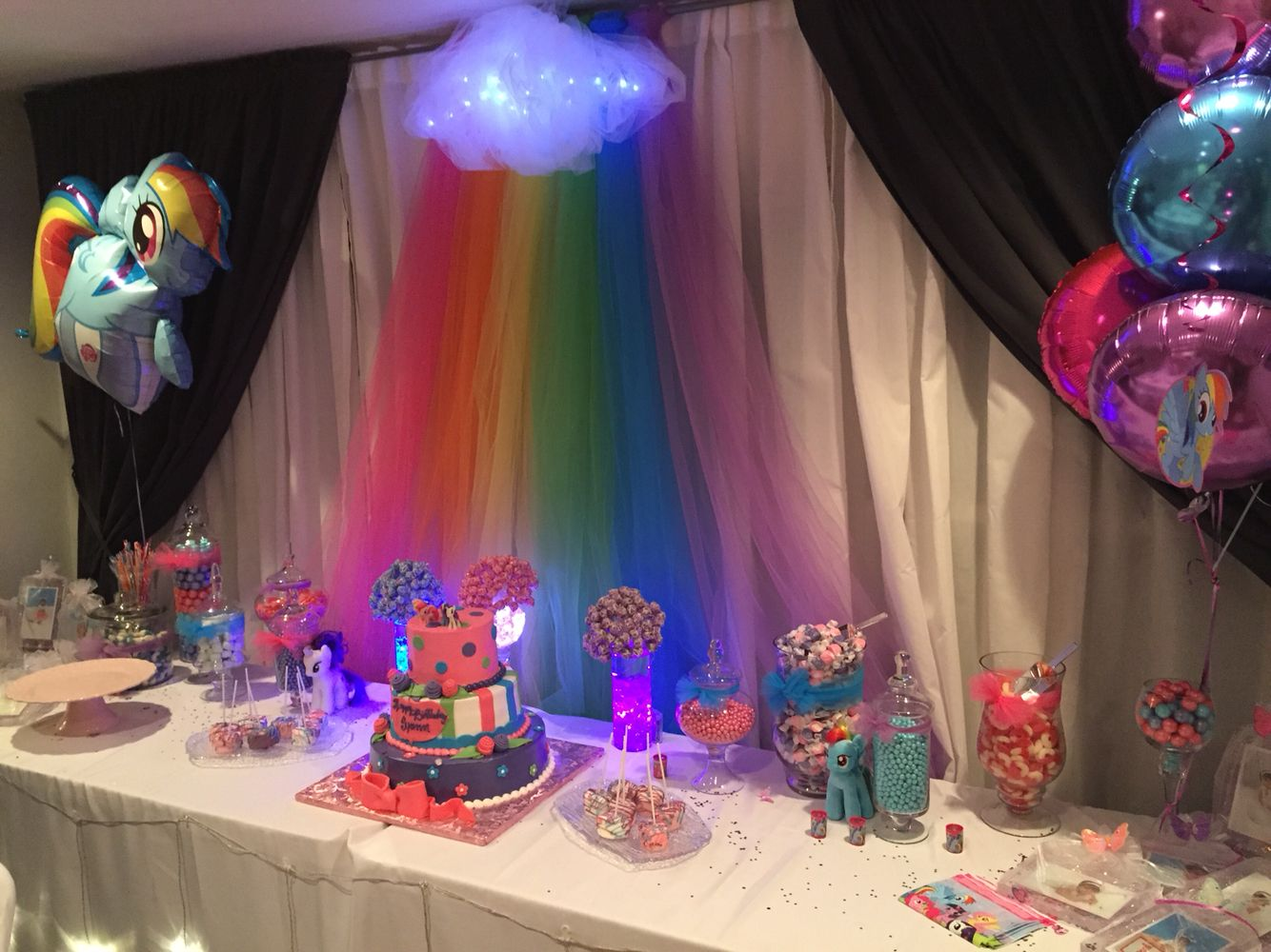 Mlp Party With Images My Little Pony Birthday Party Pony