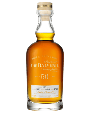 e1ce902a760 The Balvenie 50 Year Old Cask 4570 Scotch Whisky 700mL is among the most  complex