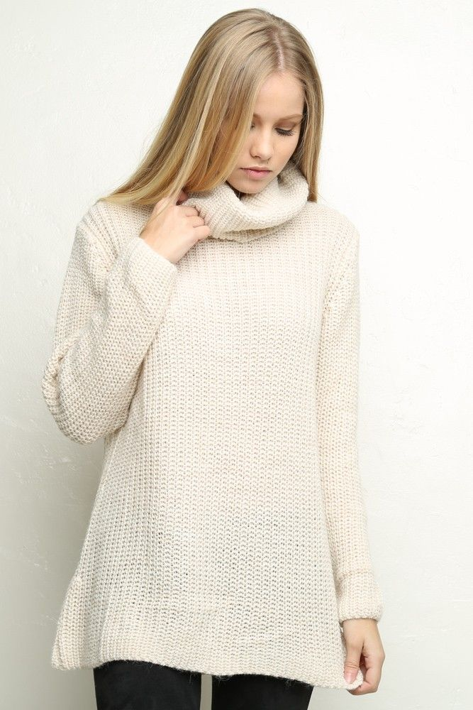 Brandy ♥ Melville | Amalia Turtleneck Sweater - Pullovers ...