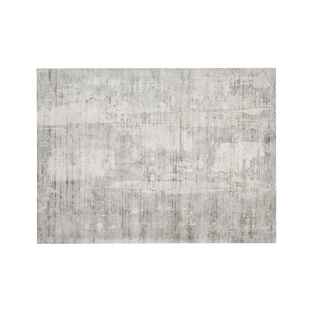 Tottori Grey Abstract Rug 10 X14 In 2019 Rugs Rugs