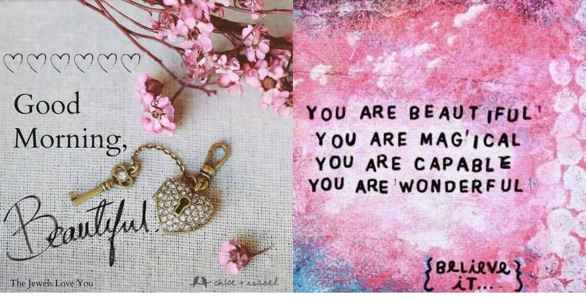 You are beautiful! #TheJewelsLoveYou