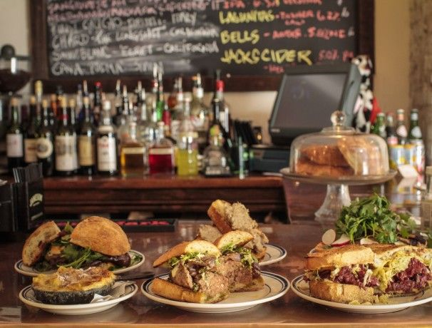 When is a sandwich notable? When it's evidence of a heart-warming improvement in what Washingtonians are devouring between two slices of bread. Alex McCoy and Daniel Kramer's Duke\'s Grocery, a two-story sandwich shop that\'s inspired by the free-wheeling culinary scene in East London, makes ju…