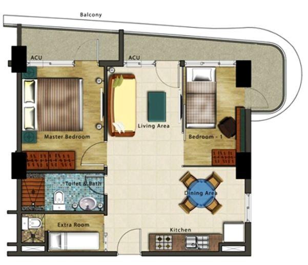 28++ 2 bedroom condo unit floor plan ppdb 2021
