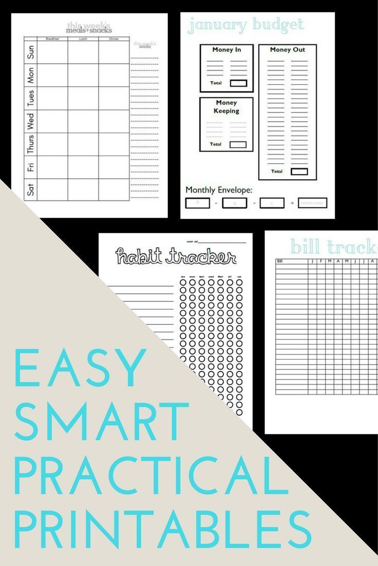 Debt Free Budget Templates Printable Planner Planner Pages Happy