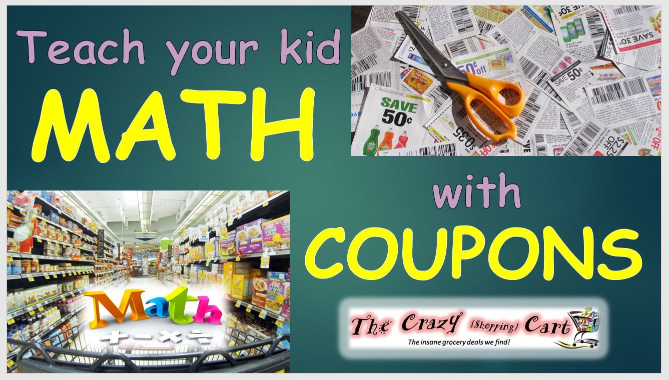 Teach Your Kids Math With Coupons | Multiplication and Math