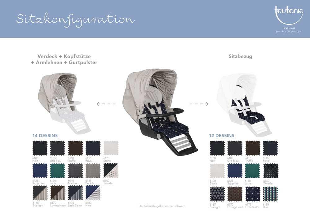 teutonia kombikinderwagen 2 in 1 set teutonia be you. Black Bedroom Furniture Sets. Home Design Ideas