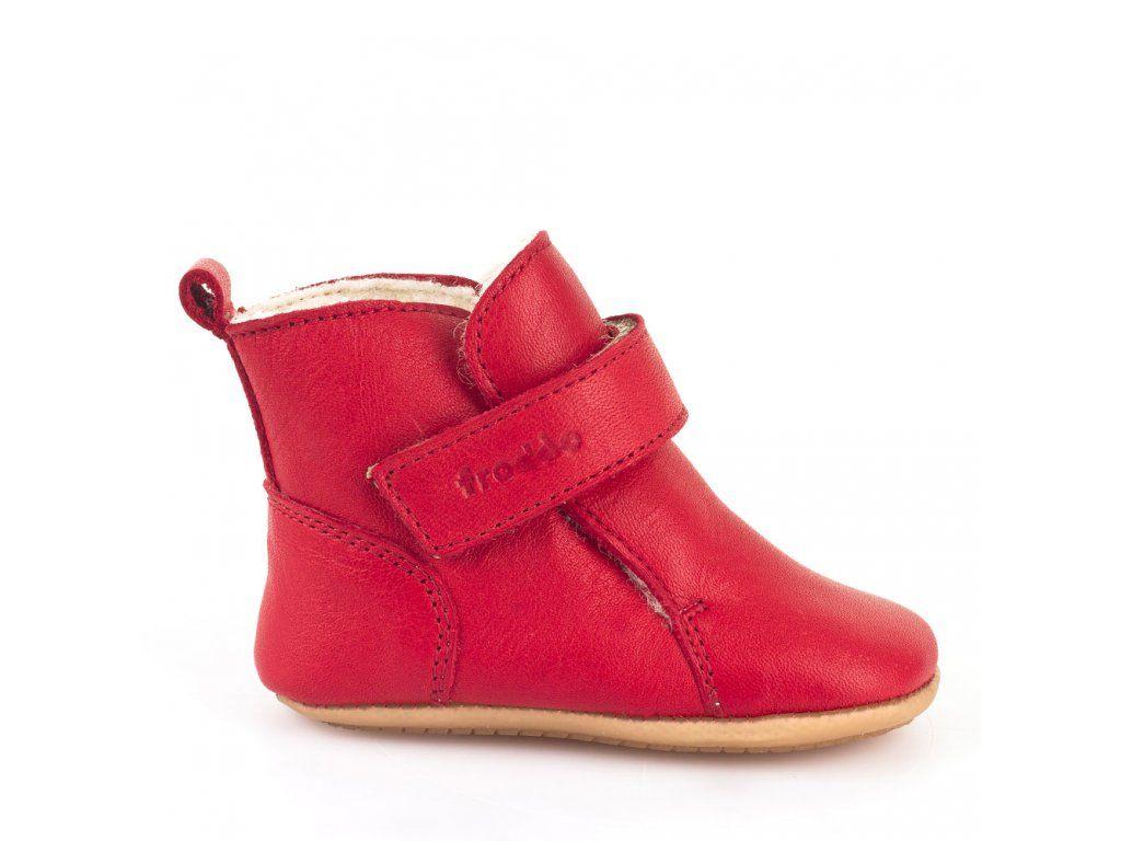 057424a21c6 Froddo Prewalkers červené - dětská zimní obuv