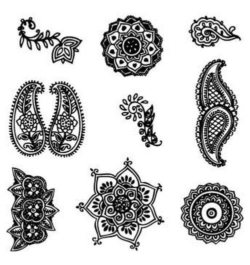 Arabic henna designs | henna | Pinterest | Enredaderas, Colorear y ...