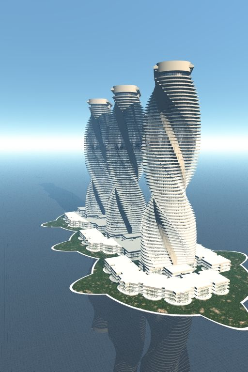 Aig architectural ideas group architecturedesign architect architecture buildingstowers curved towers buildings also rh pinterest