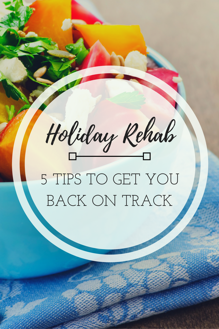 Here you will find some easy tips to help you get back on track and conquer the New Year.