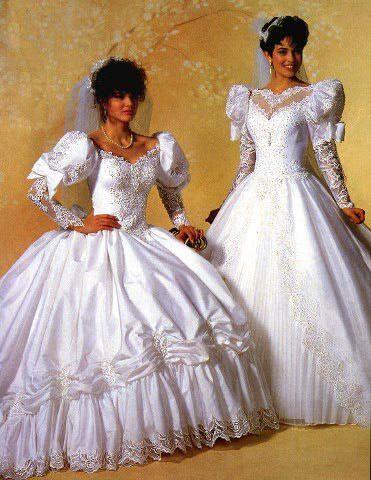 princesses 80's wed