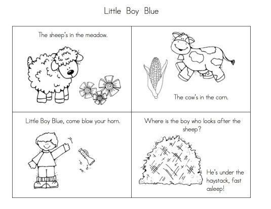 More Fun With Nursery Rhymes Nursery Rhymes Rhyming Activities