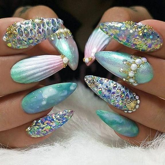 Nice All Ideas About Nail 3D Designs and Nail Art #sunflowernails #sunflowerchristmastree