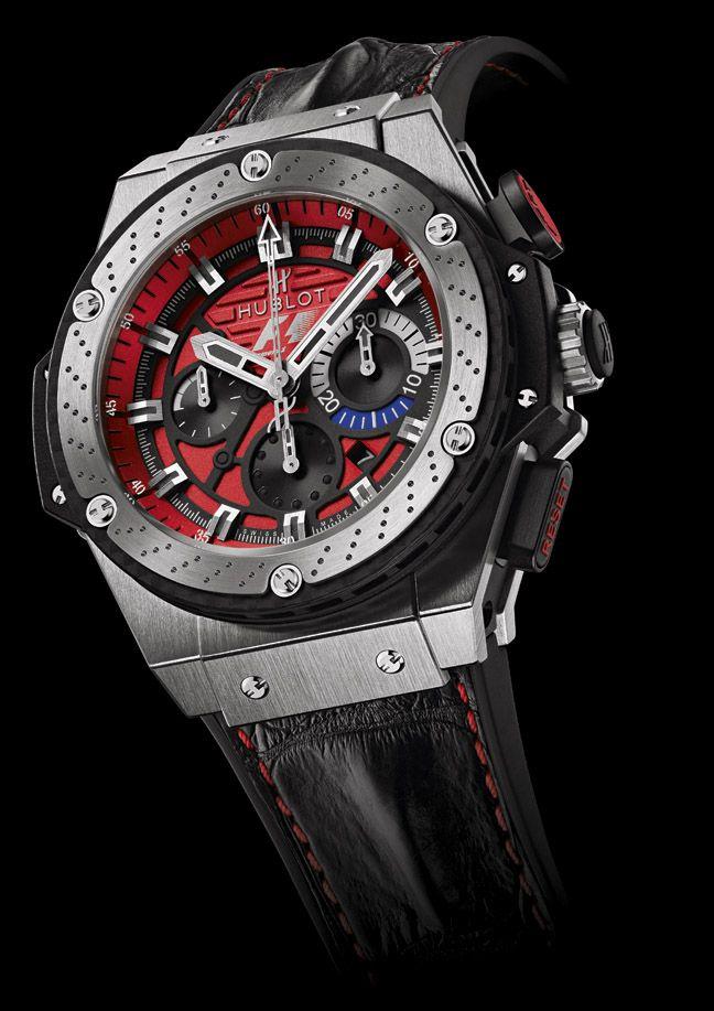 hublot f1 king power austin watches pinterest montres montre hublot et montres de diamants. Black Bedroom Furniture Sets. Home Design Ideas