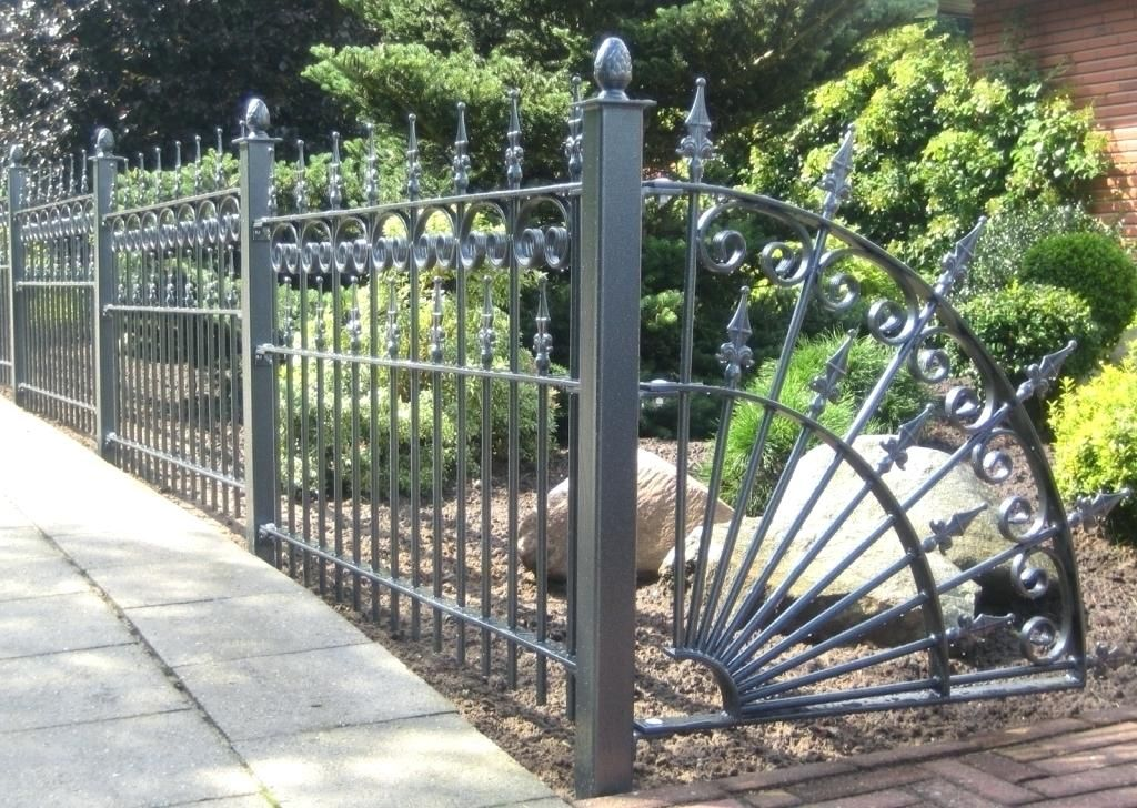Installing The Decorative Metal Fence Panels