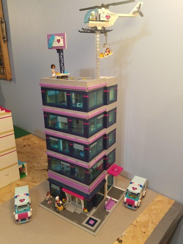 Lego Friends Hospital Custommodified Modular Building Legomylinda