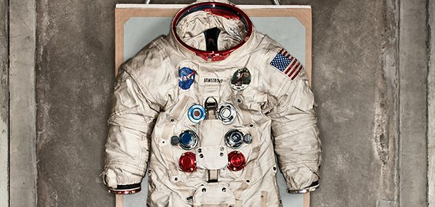 Photo of Neil Armstrong's Spacesuit Was Made by a Bra Manufacturer