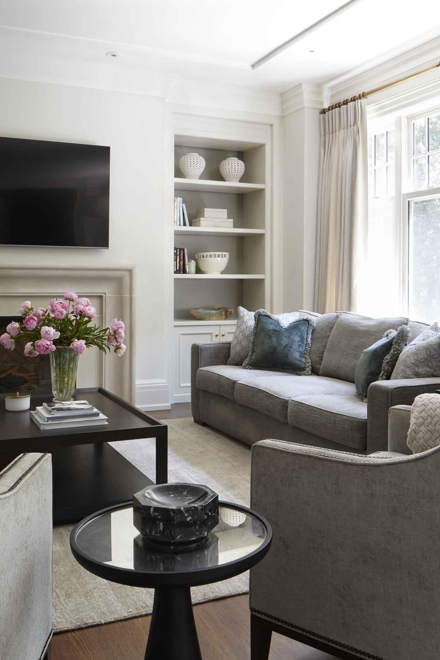a582b49e3d786 Classic – Julie Charbonneau Design | Apt renovation ideas | Interior ...