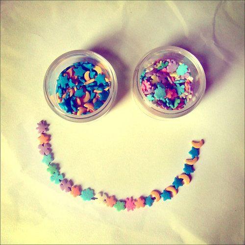 Sweetie Smile #sprinkles #colorful #create