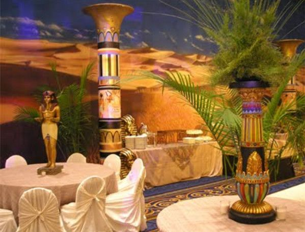 Egyptian Party Centerpieces Egyptian Themed Party Perfect Ideas