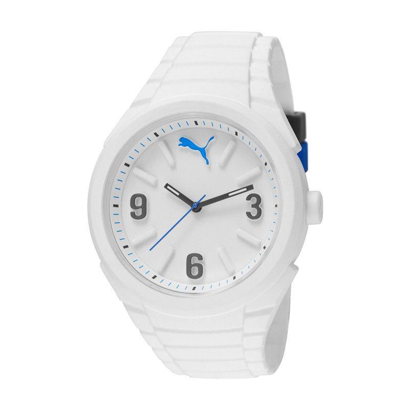 PUMA Reloj para hombre Blanco | Hombre blanco, Reloj ...