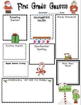 Christmas Home Learning Newsletter  Christmas Newsletter