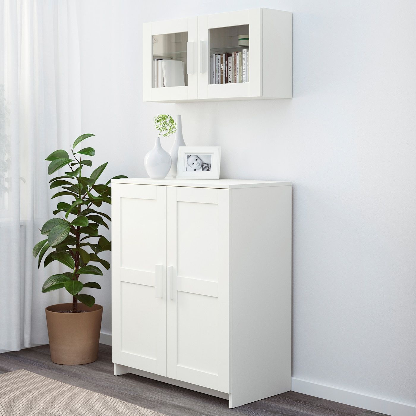 Brimnes Cabinet With Doors White 303 4x373 8