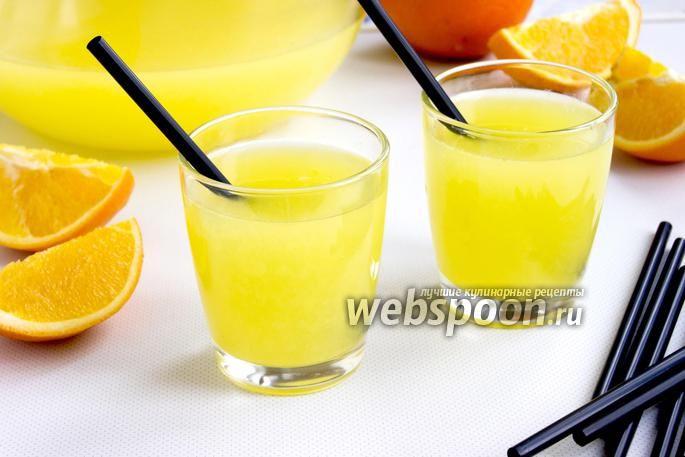 Фото Апельсиновый лимонад