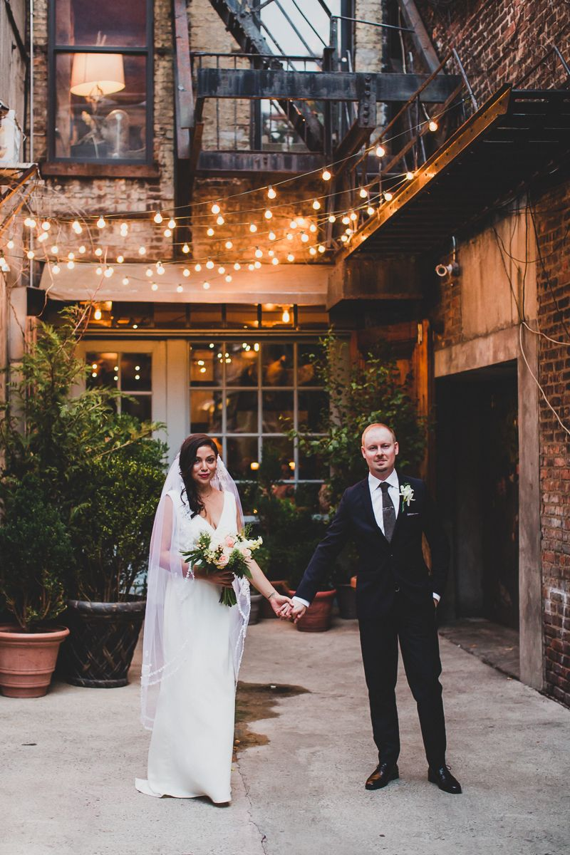 Freemans Restaurant Intimate Wedding, New York City - Susie and Phil ...