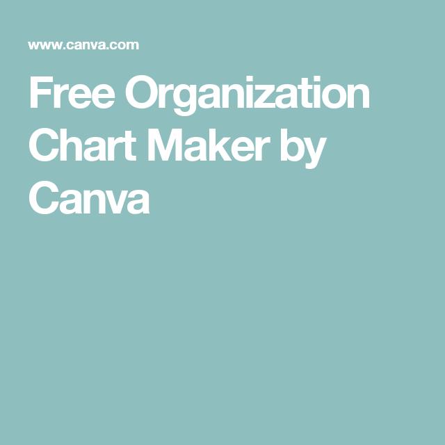 online org chart maker