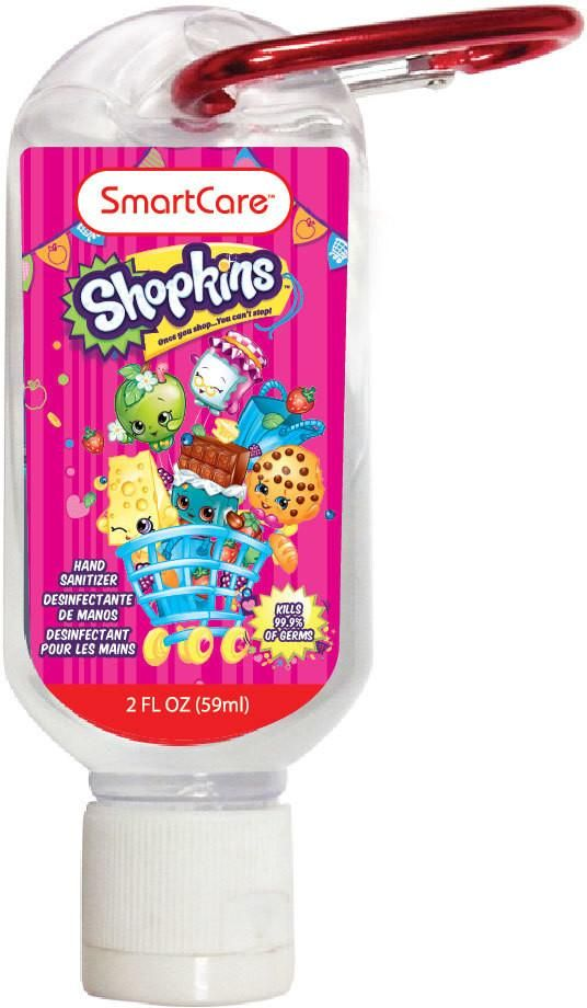 Smartcare Shopkins Hand Sanitizer 2 Ounce 36 Units Hand
