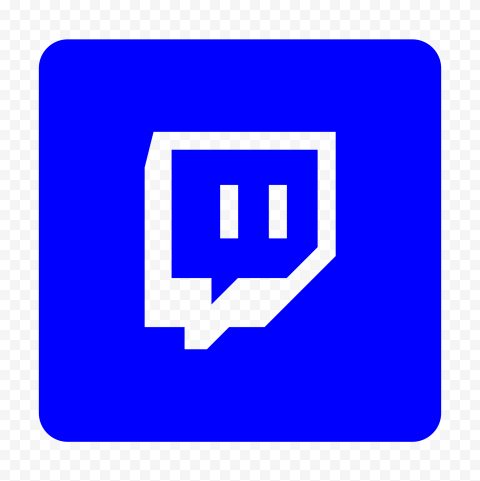 Hd Dark Blue Twitch Tv Square Outline Icon Transparent Background Png In 2021 Transparent Background Outline Twitch Tv