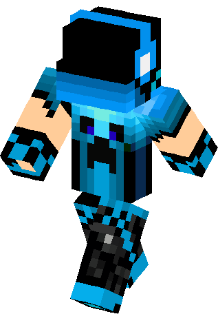 Installation Methode 1 Download The File For The Blue Dj Boy Skin And Follow Our Installation Guide For Mine Minecraft Skins Minecraft Skins Creeper Minecraft