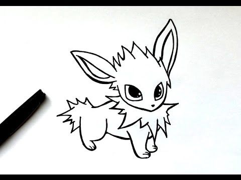 Dessin Voltali Bebe Pokemon Pokemon Evoli Pokemon Bebe