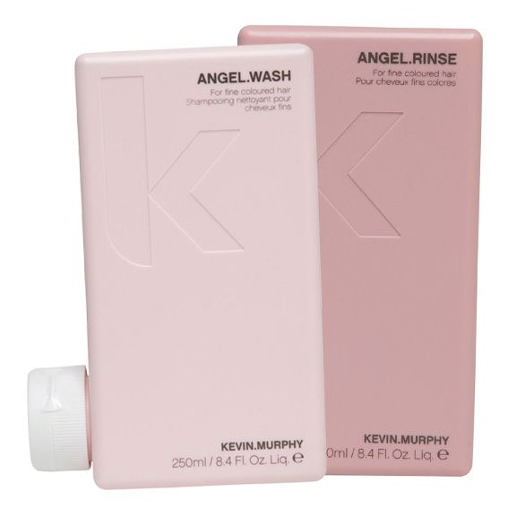 Angel wash and Angel rinse, perfect for colored hair