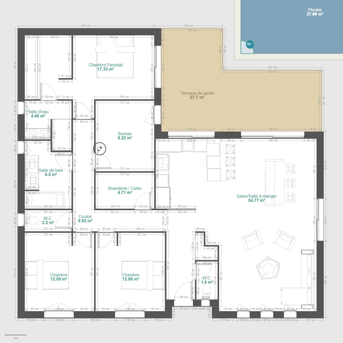 Epingle Par Papa Seydi Sur Mes Enregistrements En 2021 Plan Maison 100m2 Plan Maison 90m2 Plan Maison