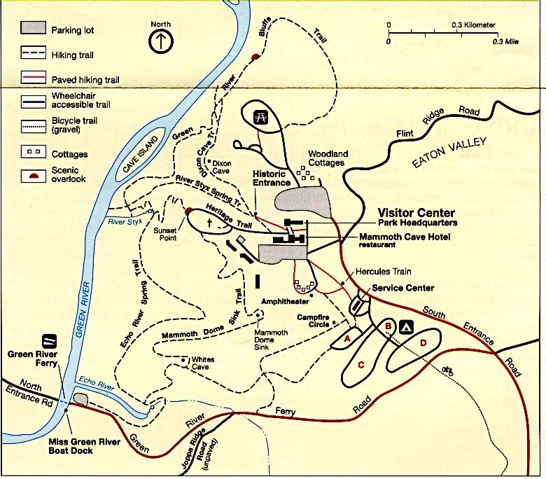 Mammoth Cave KY Must Visit Pinterest Mammoth Cave And - Us caves map